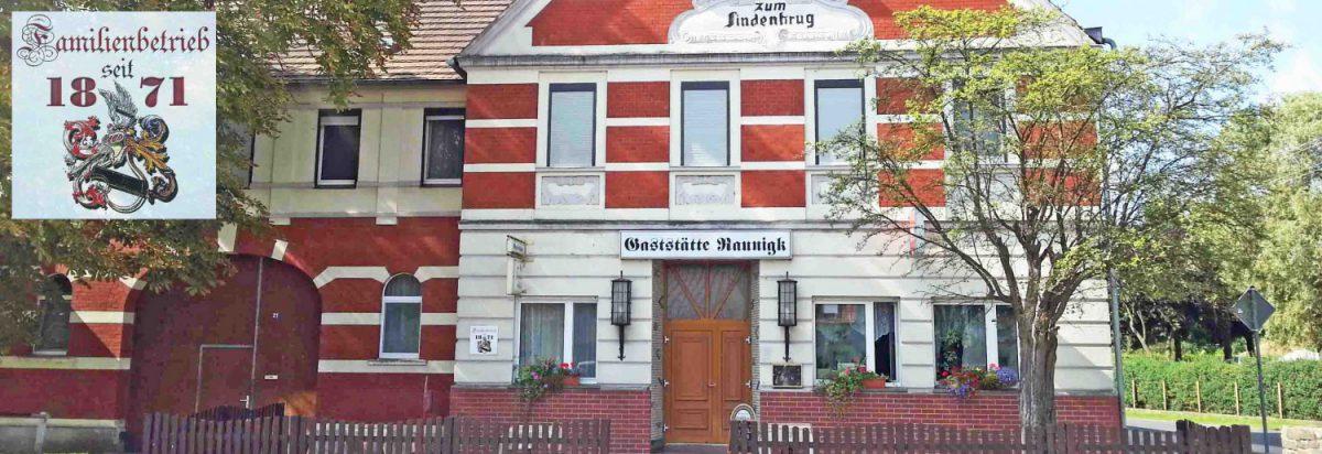 Gaststätte Raunigk in Gehren – Familienbetrieb seit 1871